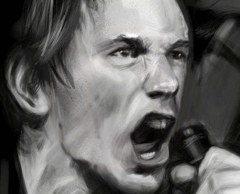 Johnny Rotten (Detail)