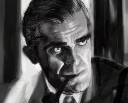 Boris Karloff Close Up