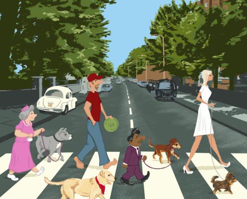 Come Together Illustration